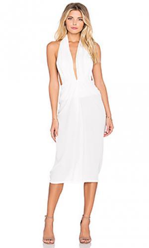 Платье toussaint Maurie & Eve. Цвет: белый