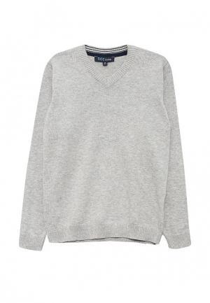 Пуловер Z Generation. Цвет: серый