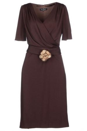 Dress IVAN MONTESI. Цвет: dark brown