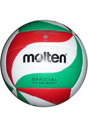 Мяч Molten. Цвет: белый, зеленый, красный