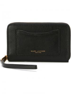 Бумажник Recruit Marc Jacobs. Цвет: чёрный