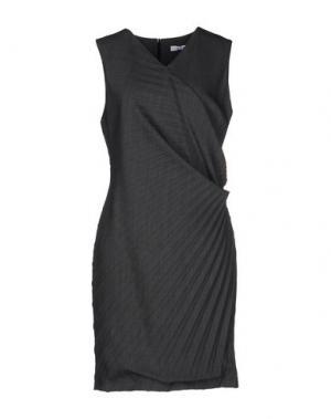 Короткое платье CRISTINAEFFE. Цвет: свинцово-серый