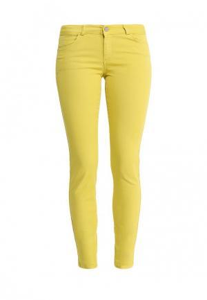 Джинсы adL. Цвет: желтый