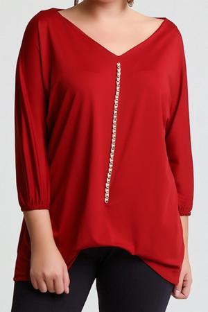 Блуза Melisita. Цвет: red