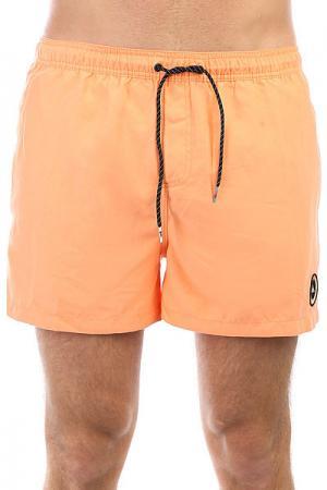 Шорты пляжные  Everydvl15 Cadmium Orange Quiksilver. Цвет: оранжевый