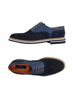 Обувь на шнурках DOMENICO TAGLIENTE. Цвет: темно-синий
