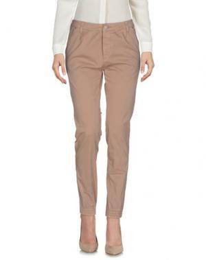 Повседневные брюки FIFTY FOUR. Цвет: бежевый