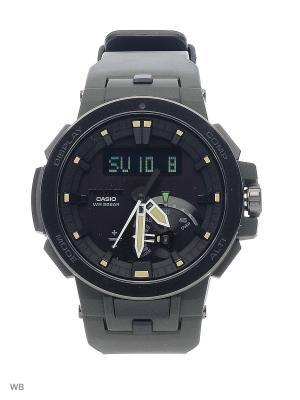 Часы PRO TREK PRW-7000-3E CASIO. Цвет: хаки