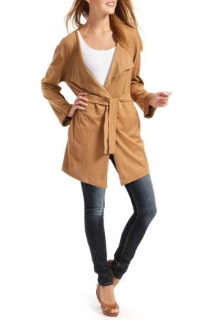 Пальто RINO & PELLE. Цвет: бежевый