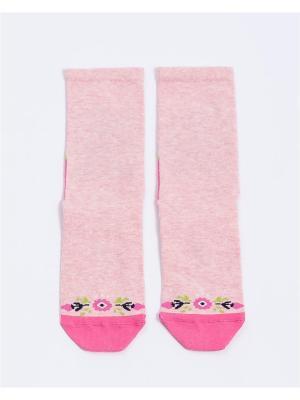 Носки Mark Formelle. Цвет: салатовый, бледно-розовый, розовый, белый