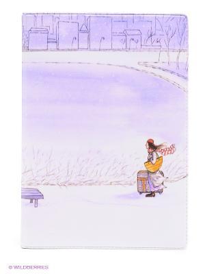 Обложка для автодокументов Путь домой Mitya Veselkov. Цвет: сиреневый, белый