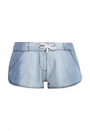 Шорты джинсовые Emoi. Цвет: голубой