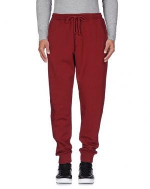 Повседневные брюки C.Y.H. CLAP YOUR HAND. Цвет: кирпично-красный