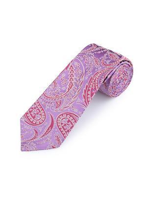 Галстук Paisley Privilege Jewel Duchamp. Цвет: сиреневый, розовый, светло-серый