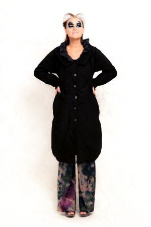 Пальто Iconoclast. Цвет: черный