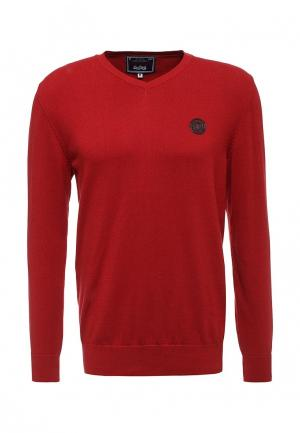 Пуловер Jimmy Sanders. Цвет: красный