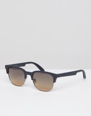 Carrera Солнцезащитные очки в квадратной оправе. Цвет: черный