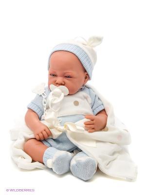 Кукла Санти озвученная Antonio Juan. Цвет: голубой