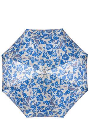 Зонт Eleganzza. Цвет: синий, светло-серый, темно-серый