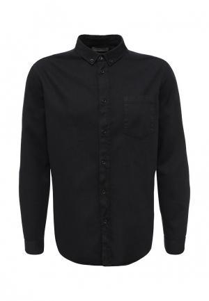 Рубашка джинсовая Mango Man. Цвет: черный
