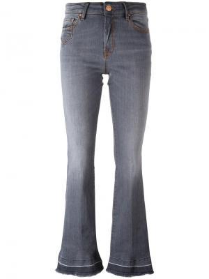 Расклешенные джинсы  Dont Cry Don't. Цвет: серый