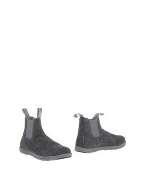 Полусапоги и высокие ботинки BLUNDSTONE. Цвет: свинцово-серый
