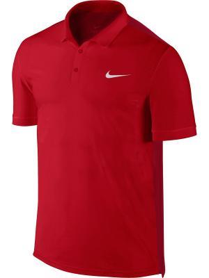 Шорты Nike. Цвет: красный