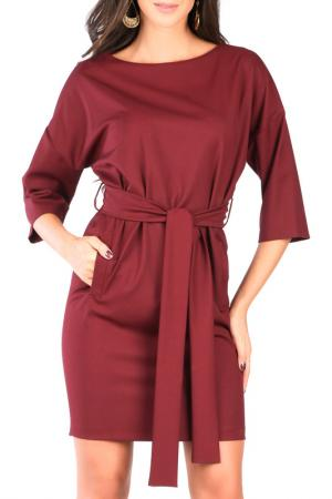 Платье CARLA BY ROZARANCIO. Цвет: bordeaux
