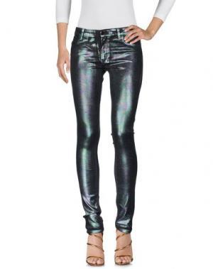 Джинсовые брюки 75 FAUBOURG. Цвет: зеленый