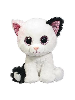 Глазастик Кот Fancy. Цвет: белый