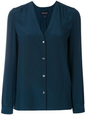Рубашка Ernest Vanessa Seward. Цвет: синий