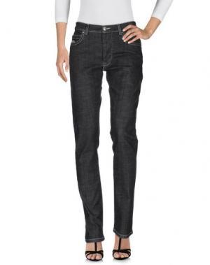 Джинсовые брюки HISTORIC RESEARCH. Цвет: черный