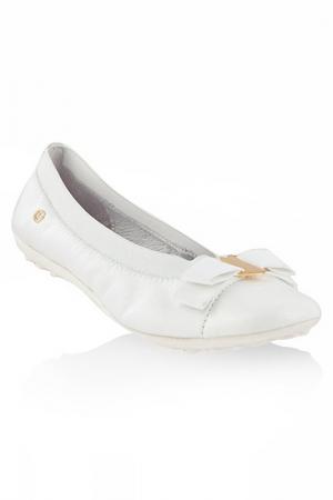 Туфли Naturino. Цвет: белый