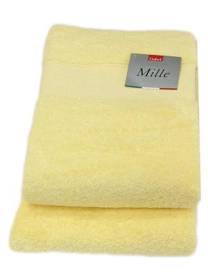 Комплект полотенец Gabel Mille (40х60,60х110) La Pastel. Цвет: желтый