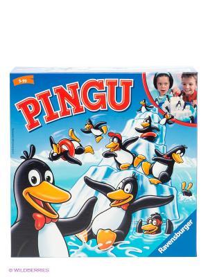 Настольная игра Пингвины на льдине Ravensburger. Цвет: голубой