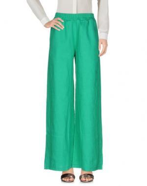 Повседневные брюки GANESH. Цвет: зеленый
