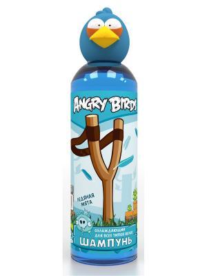 Шампунь охлаждающий для всех типов волос (синяя птица) ANGRY BIRDS. Цвет: синий