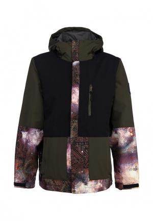 Куртка горнолыжная Bonfire. Цвет: хаки