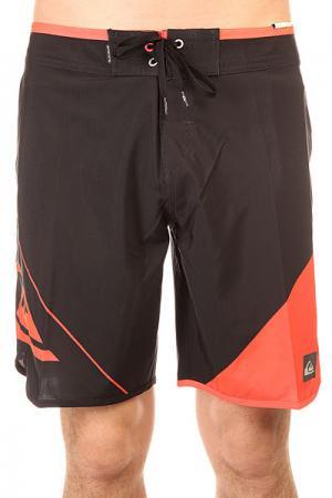 Шорты пляжные  New Wave Black/Orange Quiksilver. Цвет: оранжевый,черный