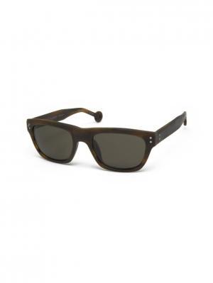 Солнцезащитные очки HS 504S 49 HALLY & SON. Цвет: коричневый