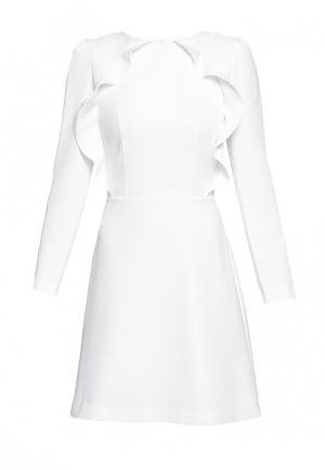 Платье Genevie. Цвет: белый