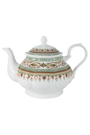 Чайник 1.3л Надин Colombo. Цвет: бело-розовый