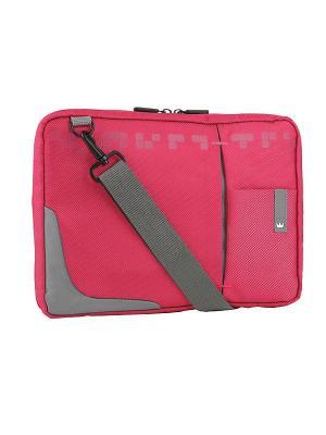 Сумка для ноутбука crown cmsbg-4410p (genuine series) pink 10,2. Цвет: розовый