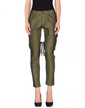 Повседневные брюки JUNYA WATANABE COMME DES GARÇONS. Цвет: зеленый-милитари