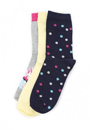 Комплект носков 3 пары Infinity Kids. Цвет: разноцветный