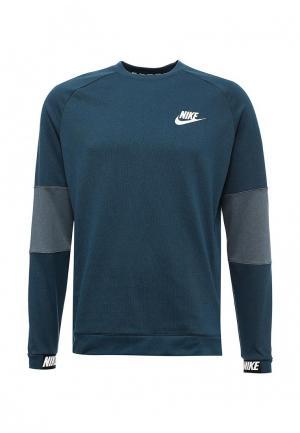 Свитшот Nike. Цвет: зеленый