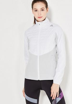 Куртка Reebok. Цвет: белый