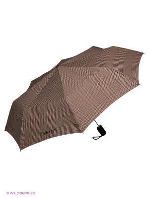 Зонты Isotoner. Цвет: бежевый, коричневый