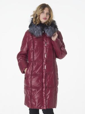 Стеганое пальто CATTAIL WILLOW. Цвет: бордовый