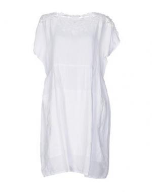 Короткое платье HIGH. Цвет: белый